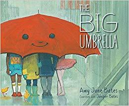a big umbrella